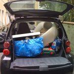 Leichtes Gepäck - Umzug mit einem Smart